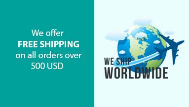 Free shipping USD